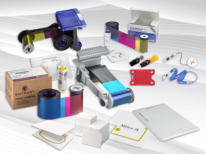 Suprimentos para Impressoras de Cartão PVC